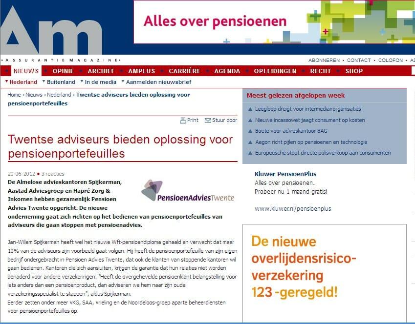 Pensioen Advies Twente