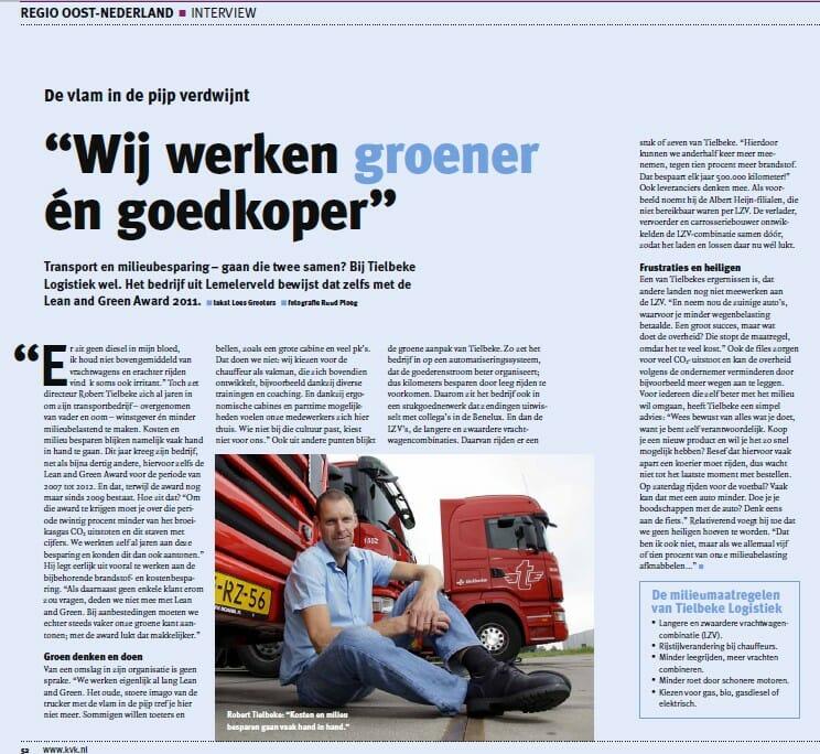 KvK artikelen 2012