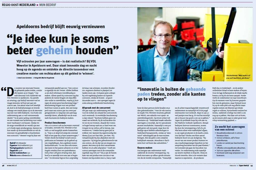 KvK artikelen 2011