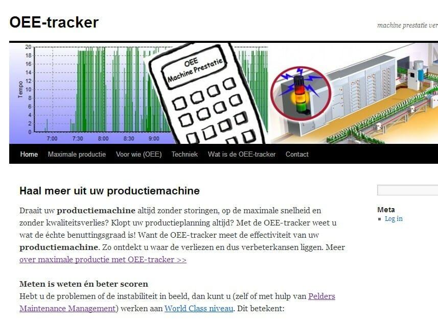 OEE-tracker