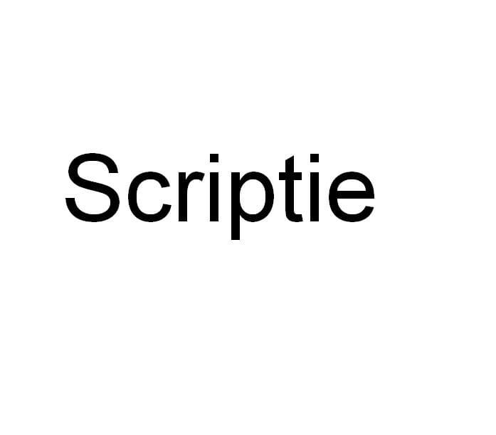 Talloze scripties