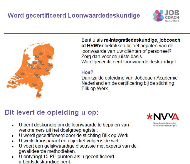 Jobcoach Academie NL
