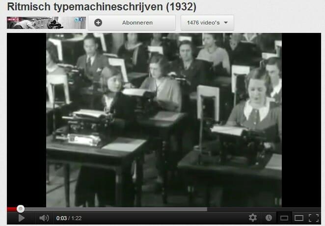 Ritmisch typemachineschrijven