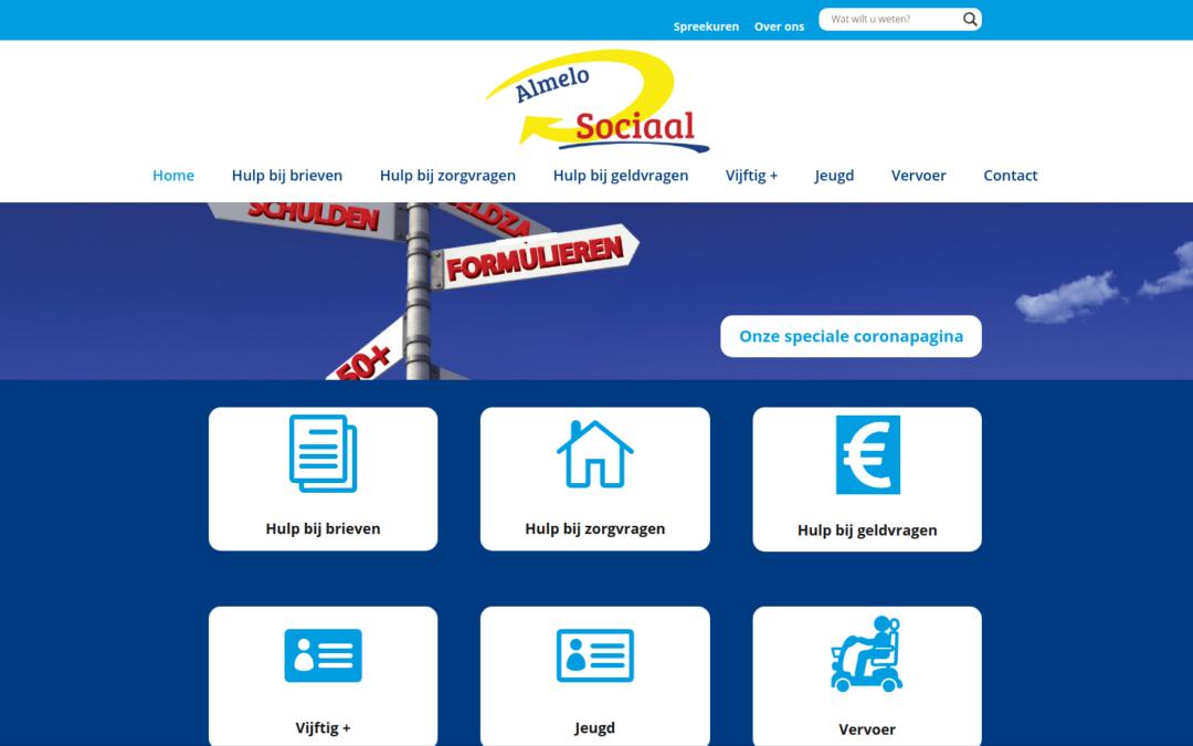 Almelo Sociaal website