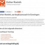 Esther Roelofs coaching