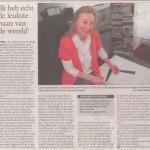 Loes Grooters, publicatie 25 juli 2012 TC Tubantia