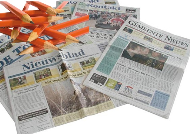 Kranten persbericht opstellen  (Overtuigendeteksten.nl)